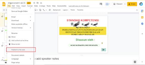 Cara Menampilkan Slide PPT langsung pada Website atau Blog 3