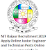 NIT Raipur Recruitment 2019 Apply Online Technical Asst Posts- www.nitrr.ac.in