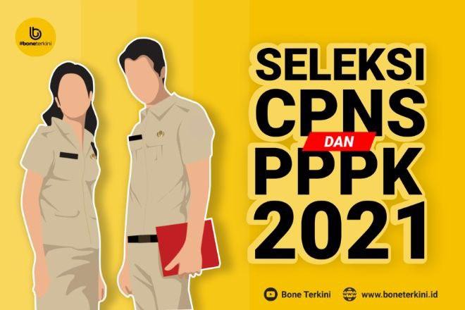 Pengumuman formasi dan jadwal pendaftaran CASN (CPNS dan PPPK) Kabupaten Pinrang 2021