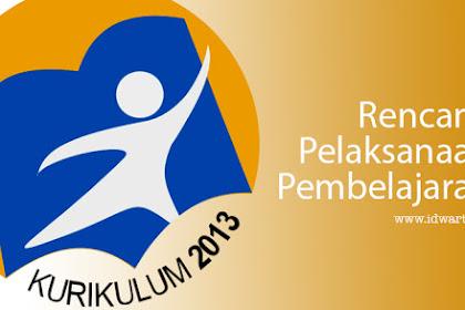 RPP Kelas 7, 8 dan 9 SMP/MTs Kurikulum 2013 Revisi 2018