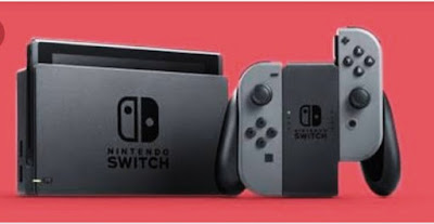 Nintendo switch console pics