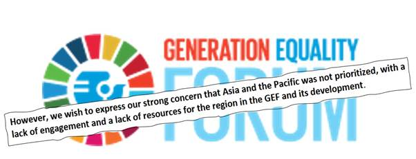 Will inclusion and accountability take centrestage at the Generation Equality Forum?