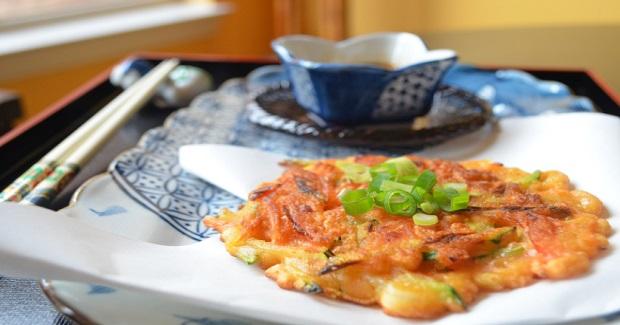 Vegetarian Pajeon (Korean Pancakes) Recipe