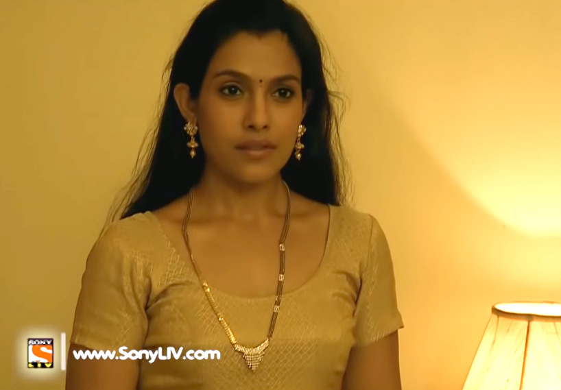 Trishna Mukherjee actress in Crime Patrol episode 152 Dwand