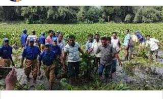 নোয়াখালীতে কচুরিপানা নিয়ে দুগ্রুপের সংঘর্ষ ২০ আহত