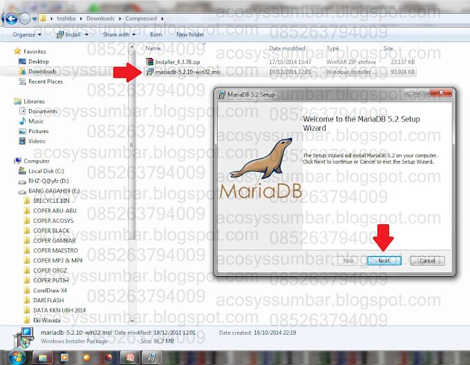 Cara Instal MariaDB untuk Server Database
