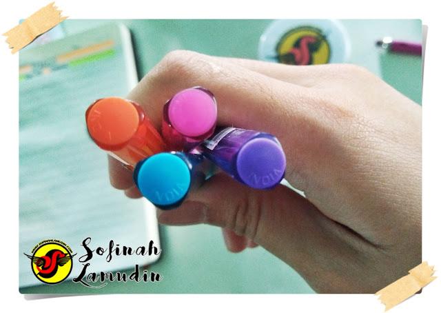 Koleksi Alat Tulis | Ball Pen Untuk Menulis Nota Atau Mencatat | Review dan Kelebihan Ball Point Pen Mengikut Jenama Alat Tulis - Paper Mate InkJoy 100 0.7 F C