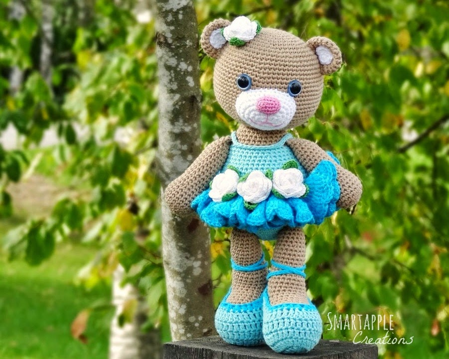 Crochet Amigurumi Ballerina Doll & Her Little Swan, Ballet ... | 721x901