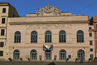 Rossini's Barber of Seville premiered at the Teatro Argentina in 1816
