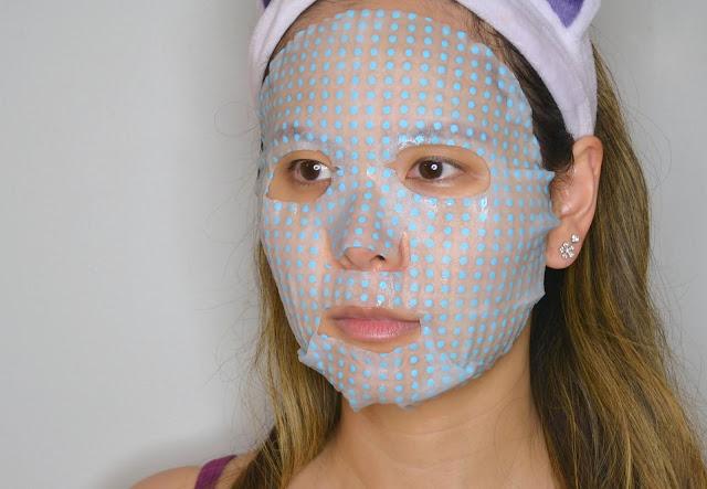 MasqueBar Massage Point Moisturizing Sheet Mask Selfie