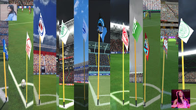 PES 2017 Corner Flag Pack v1 by PES Rmd 48