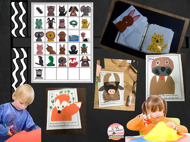 https://www.teacherspayteachers.com/Product/Alphabet-Animal-Crafts-Lets-Make-a-Book-3222241