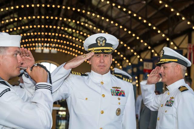 Navy Retirement Ceremony, USNA