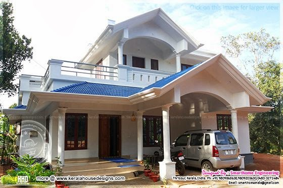 Small villa at Thrissur, Kerala