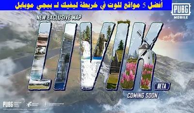 أفضل 5 مواقع للوت في خريطة Livik لـ ببجي موبايل