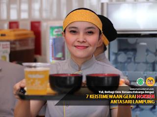 Berbagi Cinta Bersama Keluarga dengan 7 Keistimewaan Gerai Hokben Antasari Lampung