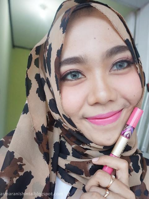 review sariayu duo lip color