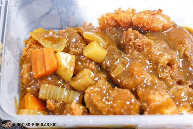 Torimomo Katsu made as Curry Katsu