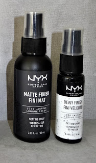 Review NYX Matte Finish Setting Spray
