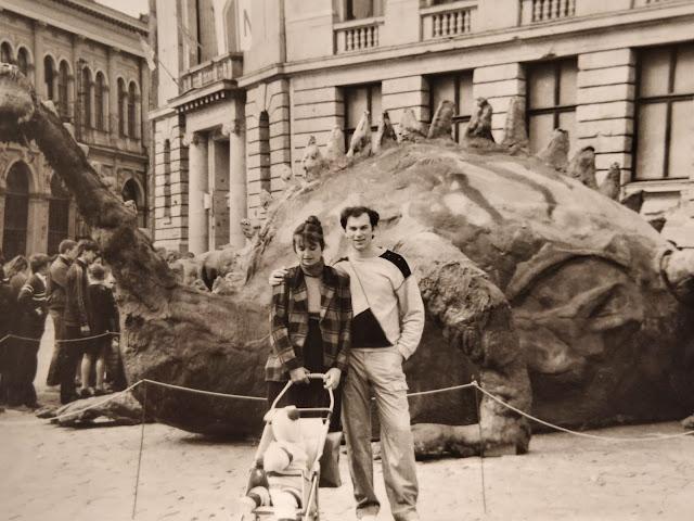 1987 год. Рига. На Домской площади