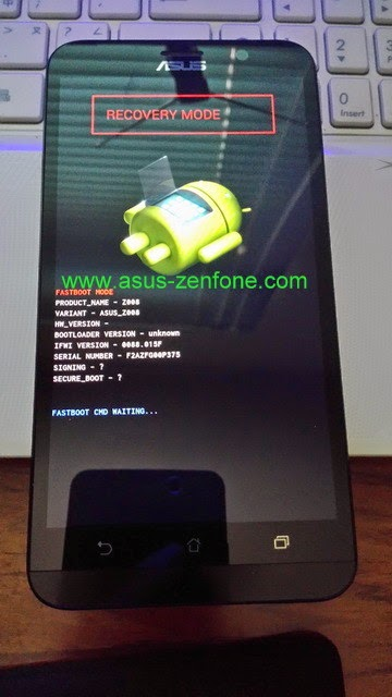 Molto Zenfone 2] How to Enter Recovery, Wipe Data, Wipe Cache ~ Asus  WF23