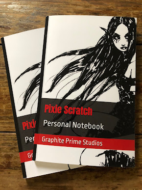 Pixie Scratch Personal Notebook -- Available At Amazon