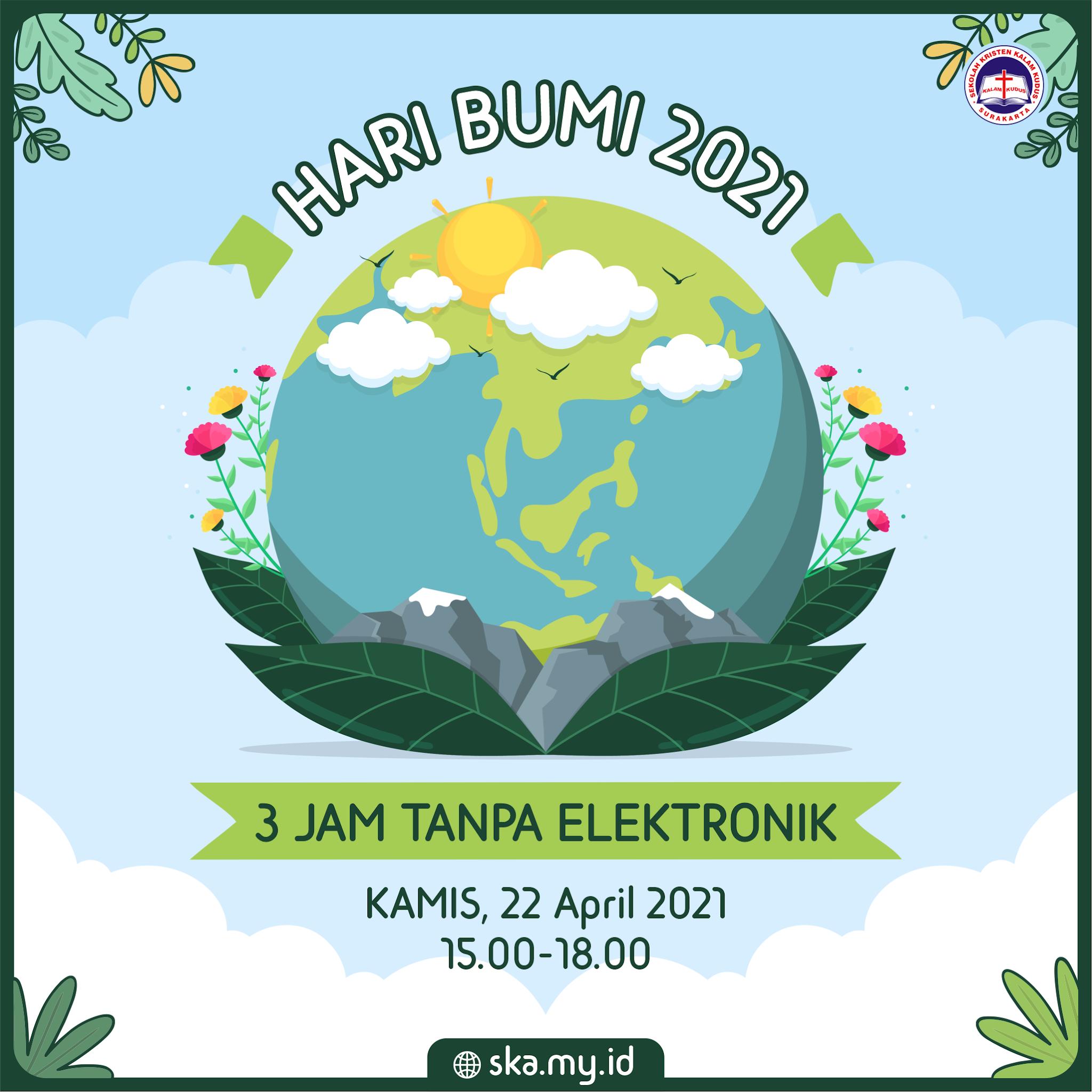 Hari Bumi 22 April 2021
