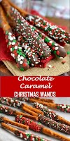 #recipe #food #drink #delicious #family #Chocolate #Caramel #Christmas #Wands #and #the #BEST #Ever #Holiday #Kids #Table!