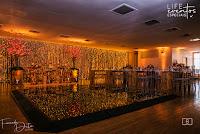 casamento com cerimônia e recepção na sogipa salões deck turner e baviera com decoração romantica luzinhas cerejeiras organizado por life eventos especiais