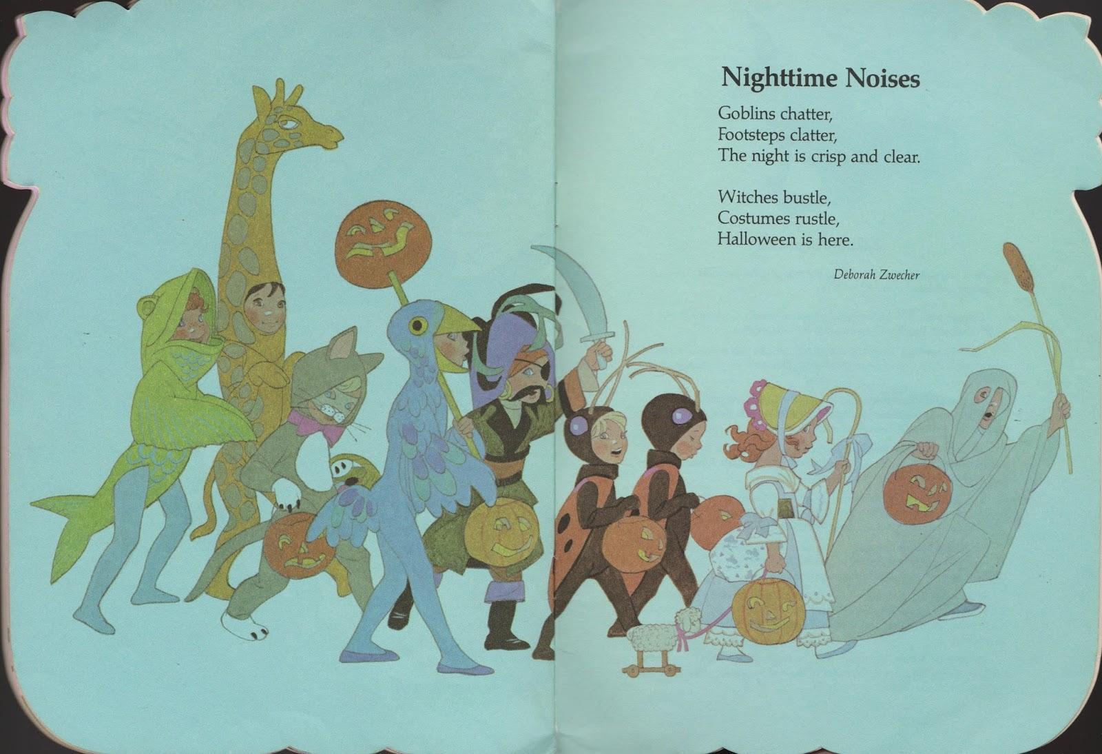 Shel Silverstein Halloween: Garage Sale Finds: A Pumpkin Full Of Poems