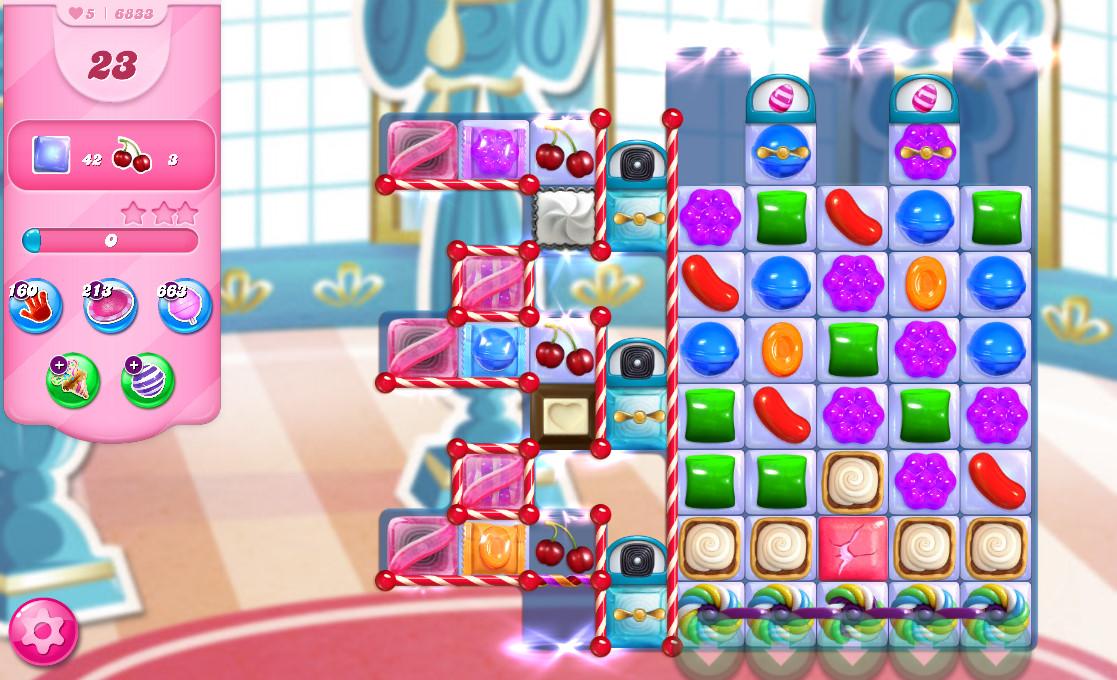 Candy Crush Saga level 6833