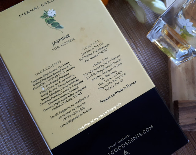 Jasmin EDP by All Good Scents Review