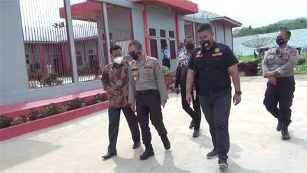 Kapolres AKBP Anggun Cahyono Periksa Kondisi Lapas Kelas III Dharmasraya