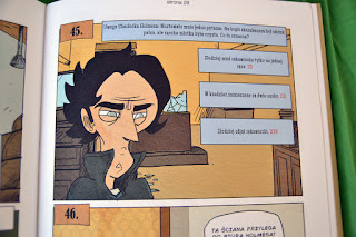 Cztery Śledztwa Sherlocka Holmesa - komiks paragrafowy