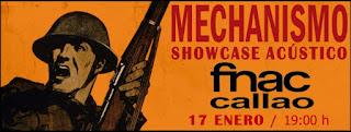 Concierto de Mechanismo en Fnac Callao