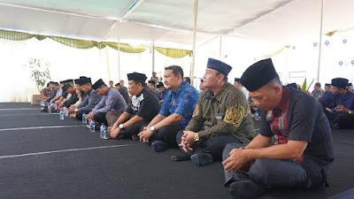 Pemkot – Kejari Kota Mojokerto Gelar Doa Bersama untuk Korban Bencana Lombok dan Sulawesi Tengah
