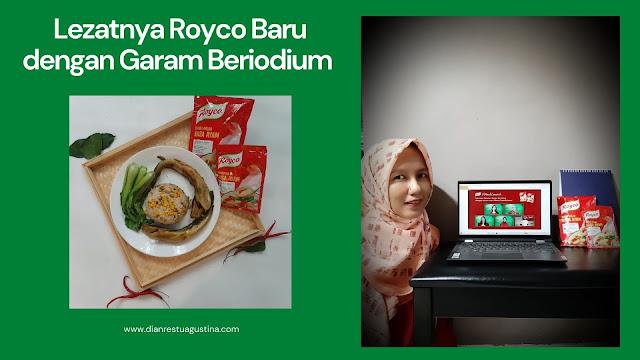 Royco Baru dengan Garam Beriodium