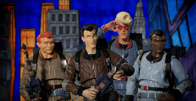 The Real Ghostbusters Intro Recreated with Action Figures in Stop Motion