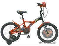 Sepeda Anak WIMCYCLE BMX Superman 18 inci