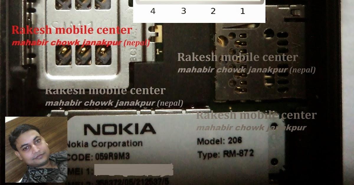 Nokia 206 or Nokia 2060 Usb Pinouts For Flashing | Onlinejaisalmer