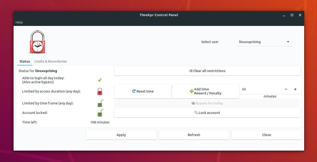 Timekpr Revived: Easy To Use Parental Control Software For Ubuntu