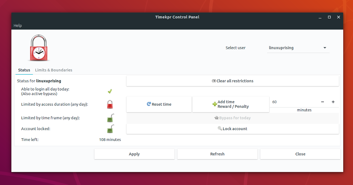 Timekpr Revived: Easy To Use Parental Control Software For Ubuntu