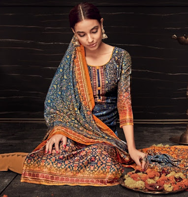 Belliza Designer The Silk 4th edition Salwar Kameez