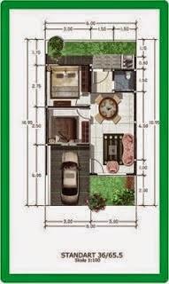 sketsa untuk membuat rumah dengan biaya 50jutaan - modern