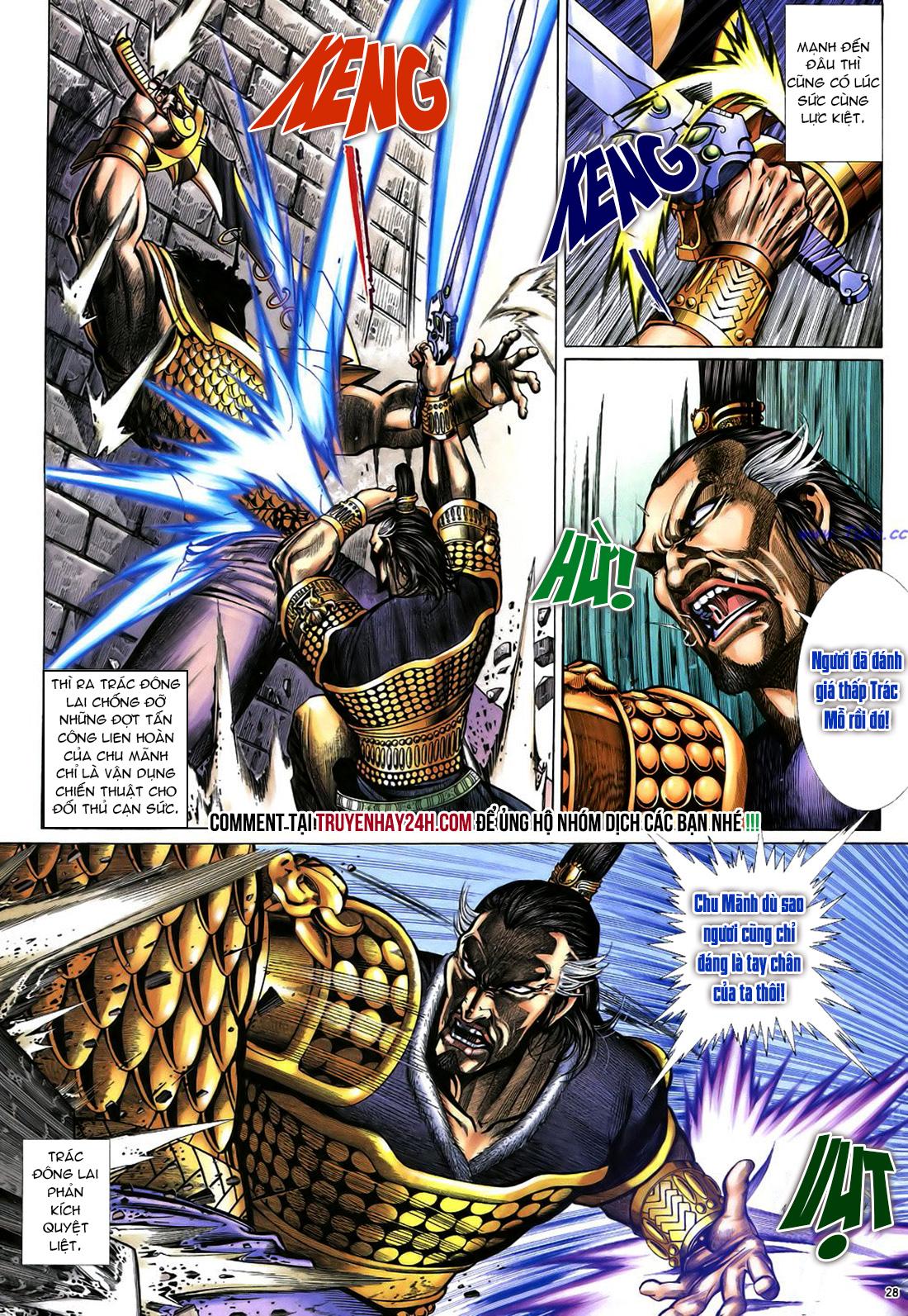 Anh hùng vô lệ Chap 22 trang 29