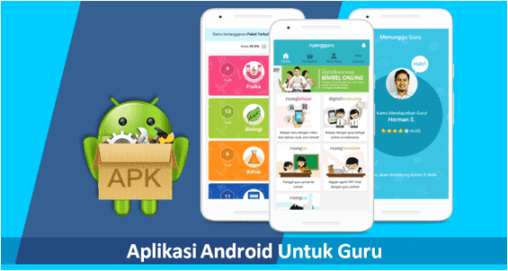 aplikasi android keren untuk guru