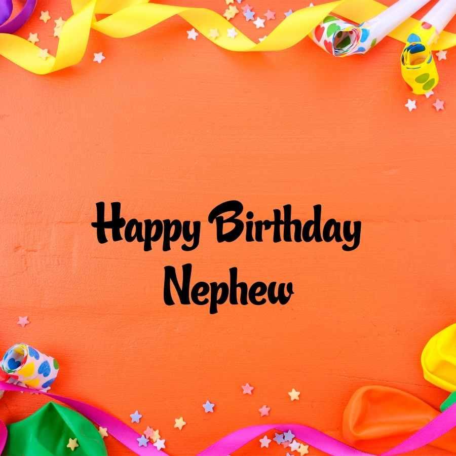 happy birthday nephew pic