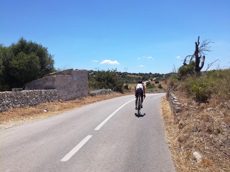 In bici a Maiorca