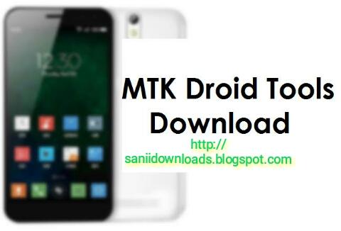 MTK Droid Tool Latest Version V2.5.3 Full Setup Free Download