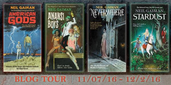 Blog Tour/Book Review: American Gods by Neil Gaiman
